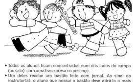 BRINCADEIRAS PARA EDUCAÇÃO INFANTIL
