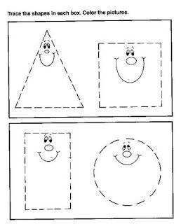 Desenhos Formas Geométricas para Colorir
