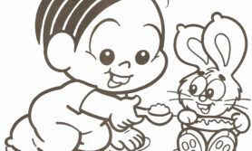 Moldes Turma da Mônica Baby