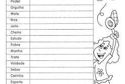 Exercícios sobre Adjetivos para 3º, 4º e 5º ano para imprimir