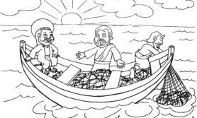 Desenhos bíblico para colorir