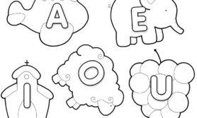 Desenhos educativos para colorir