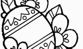 Desenhos de ovo de pascoa para colorir