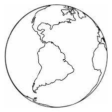 Desenhos do planeta terra para colorir