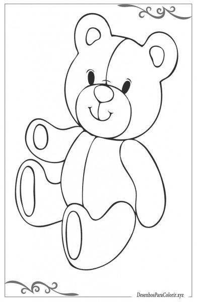 Desenhos de brinquedos para colorir